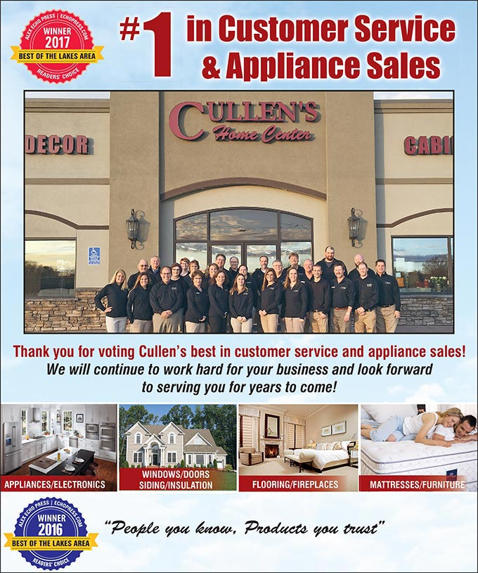 #1 Customer Service and Appliance Sales