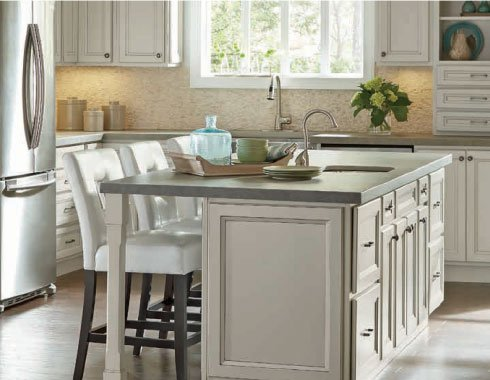 Custom Cabinets & Countertops